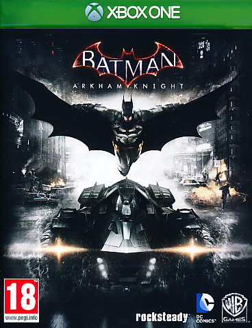 "Packshot for ""Batman Arkham Knight XBO"""