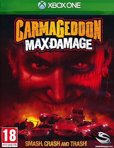 "Packshot for ""Carmageddon Max Damage XBO"""