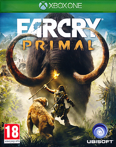 "Packshot for ""Far Cry Primal XBO"""