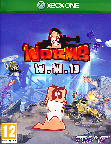 """Packshot for """"Worms WMD All Stars XBO"""""""