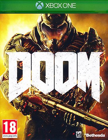 """Packshot for """"Doom XBO"""""""