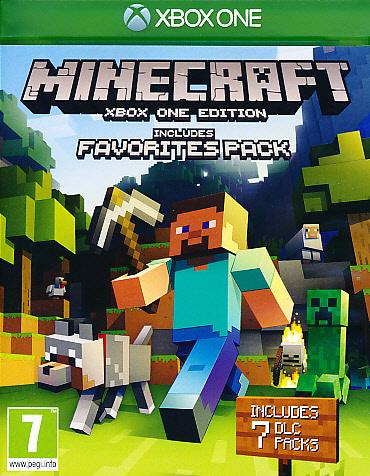 "Packshot for ""Minecraft Favourites Bundle XBO"""