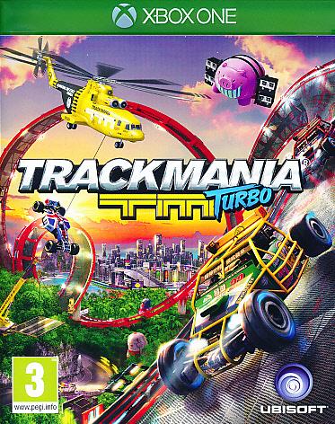 "Packshot for ""Trackmania Turbo XBO"""