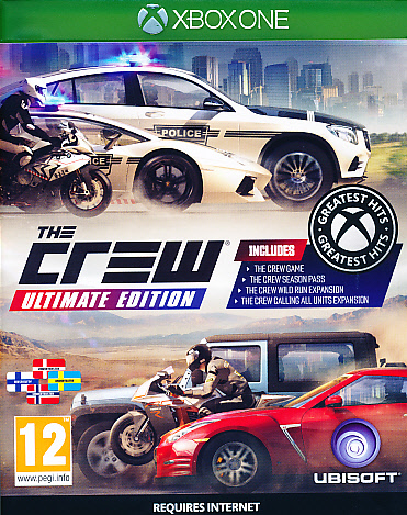 "Packshot for ""The Crew Ultimate Ed. NORD XBO"""