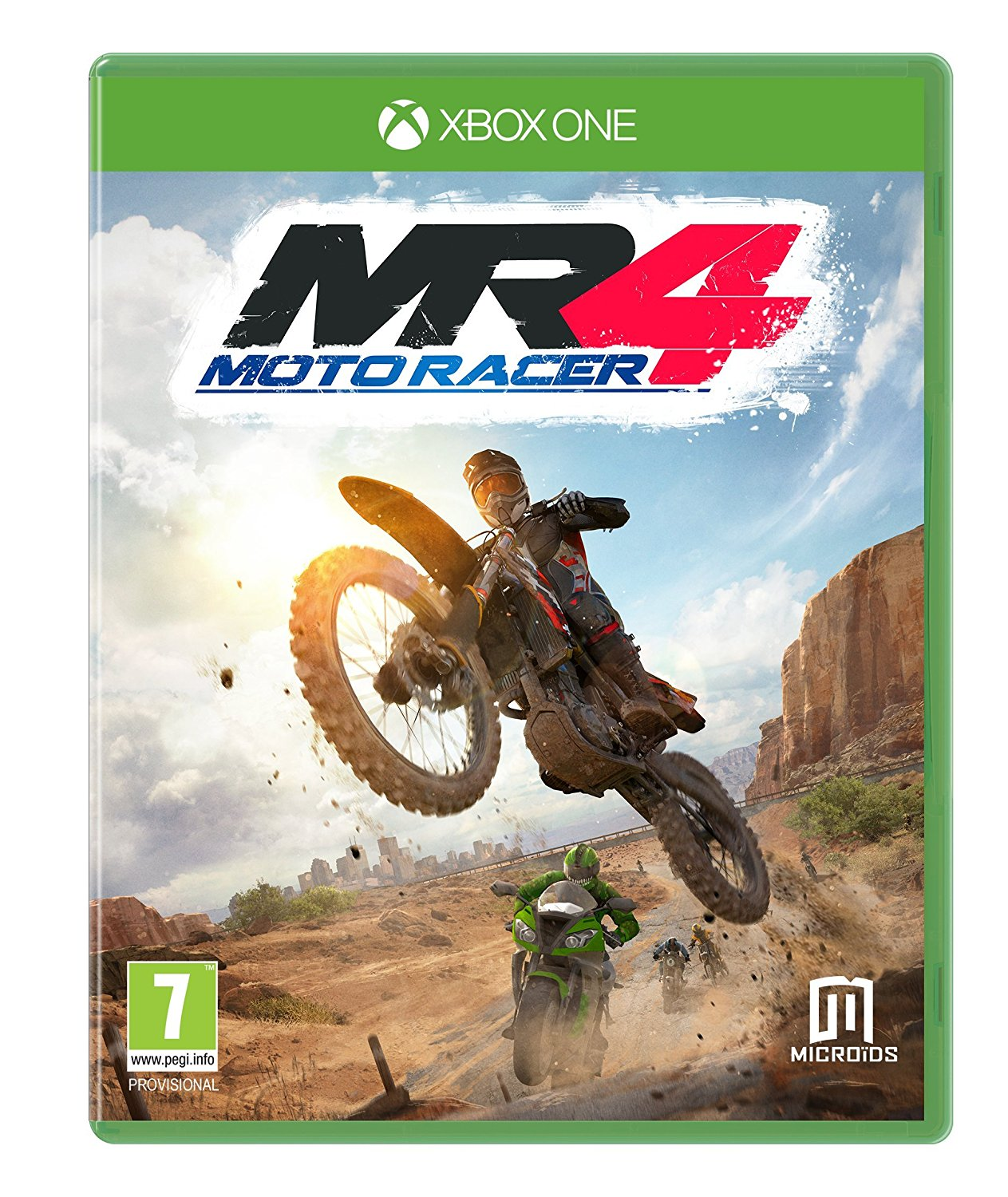 "Packshot for ""Moto Racer 4 XBO"""