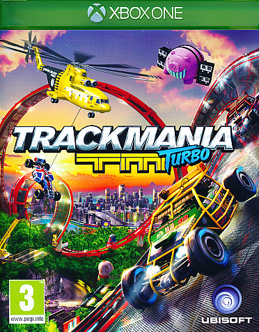 "Packshot for ""Trackmania Turbo XBO"""