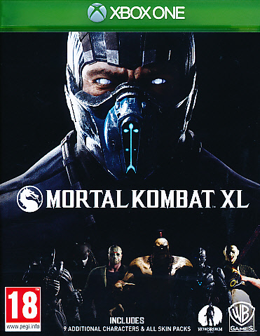 "Packshot for ""Mortal Kombat XL XBO"""