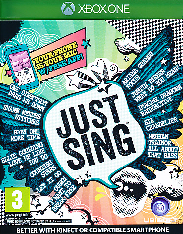 "Packshot for ""Just Sing XBO"""