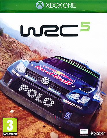 "Packshot for ""WRC 5 XBO"""