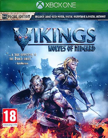 """Packshot for """"Vikings Wolves of Midgard XBO"""""""