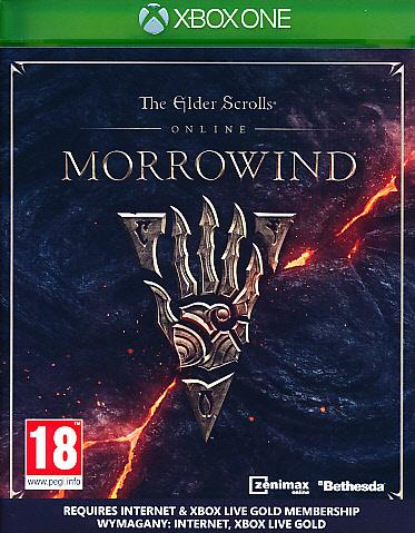 "Packshot for ""Elder Scrolls Online Morrowind XBO"""