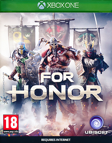 "Packshot for ""For Honor XBO"""
