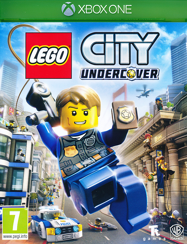 "Packshot for ""Lego City Undercover XBO"""