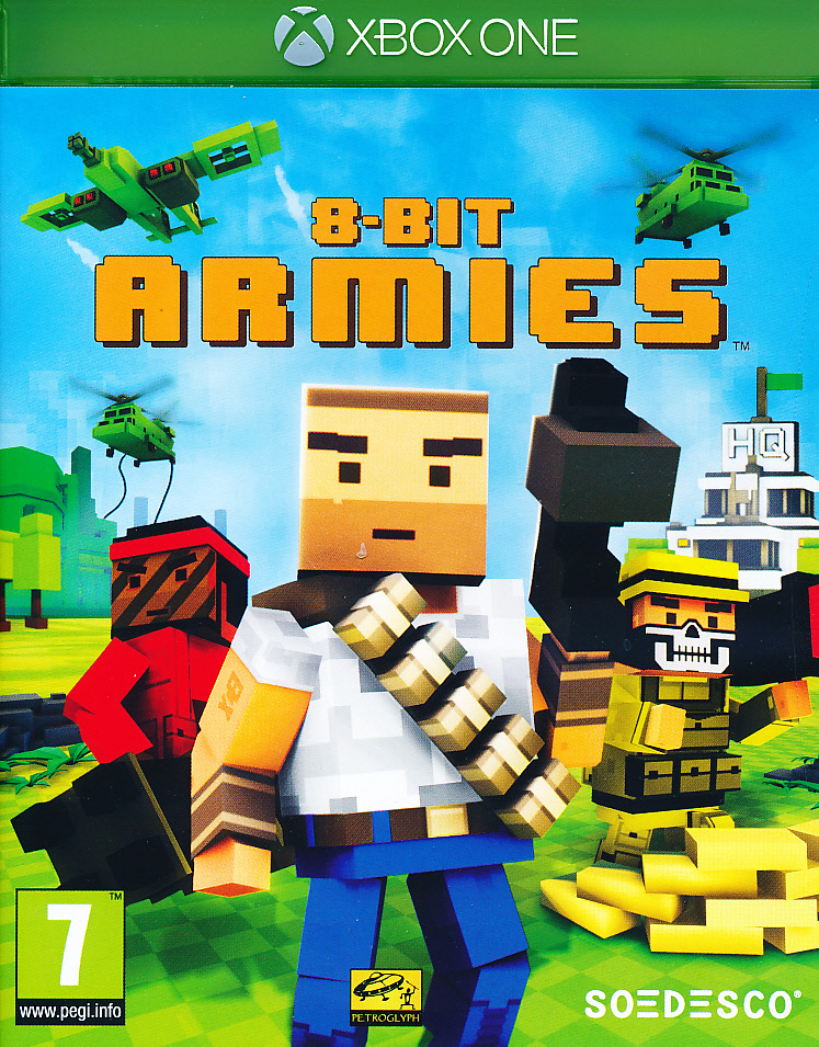 "Packshot for ""8-Bit Armies XBO"""