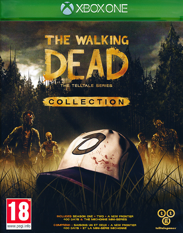 "Packshot for ""Walking Dead Collection XBO"""