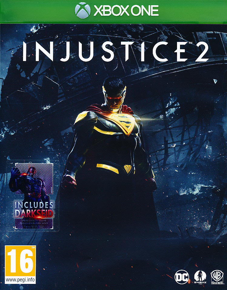 "Packshot for ""Injustice 2 XBO"""