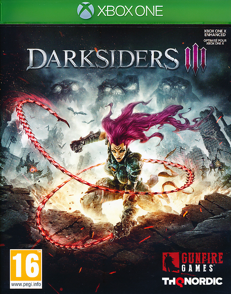 "Packshot for ""Darksiders 3 XBO"""