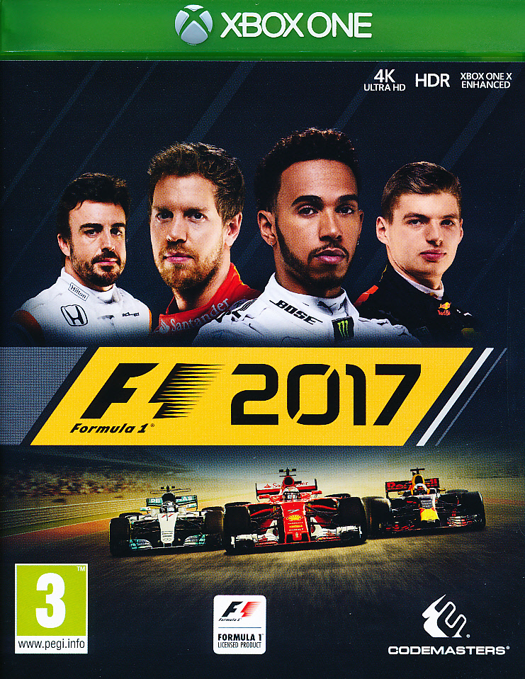 "Packshot for ""F1 2017 XBO"""