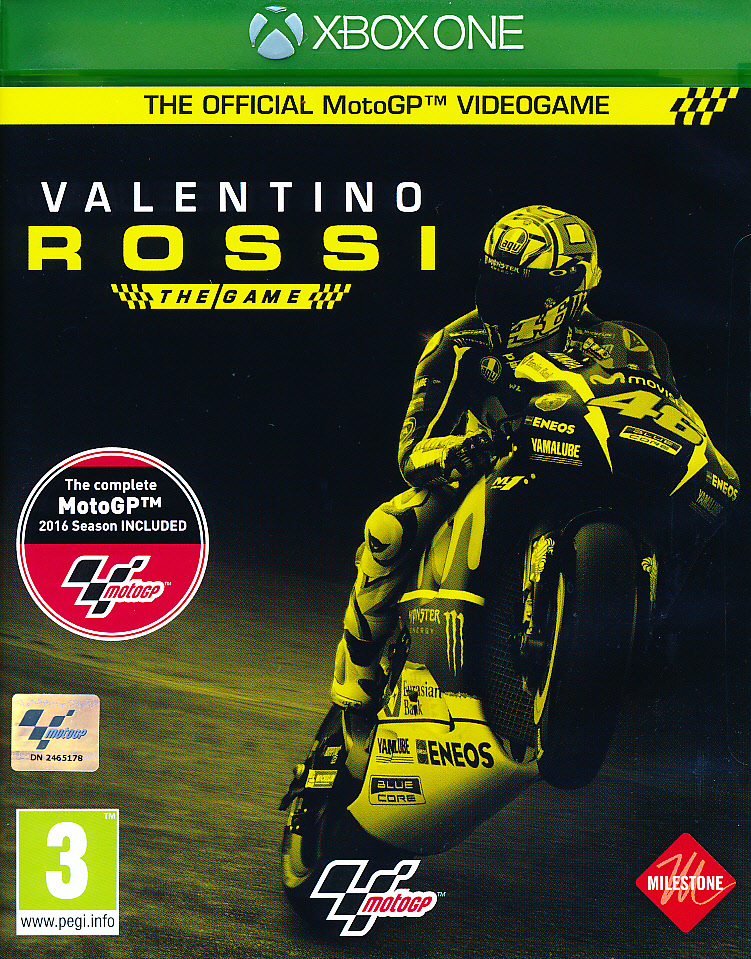 "Packshot for ""Moto GP 16 Valentino Rossi XBO"""