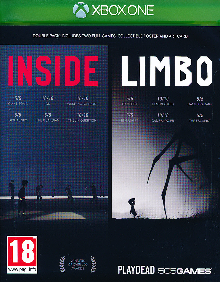 "Packshot for ""Inside Limbo Double Pack XBO"""