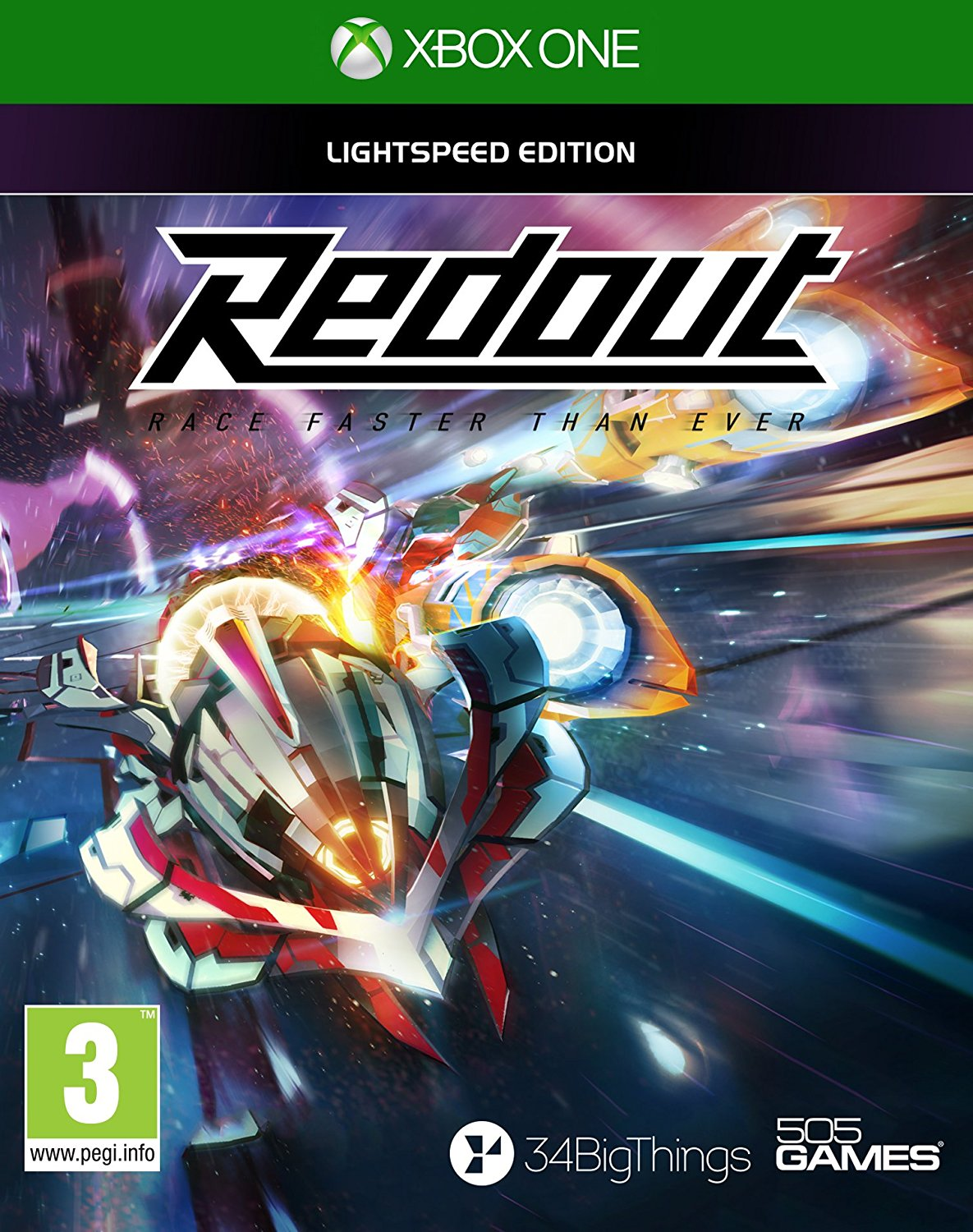 "Packshot for ""Redout XBO"""