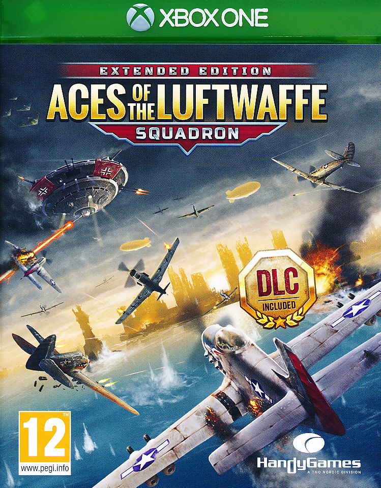 "Packshot for ""Aces of the Luftwaffe XBO"""