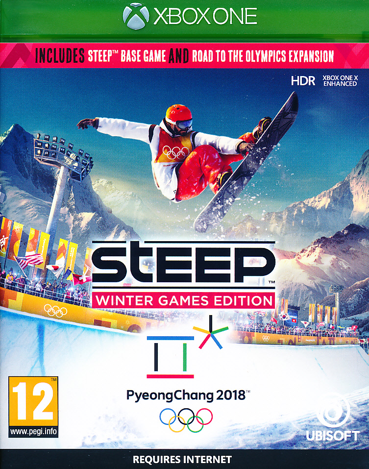 "Packshot for ""Steep Road To The Olympics XBO"""
