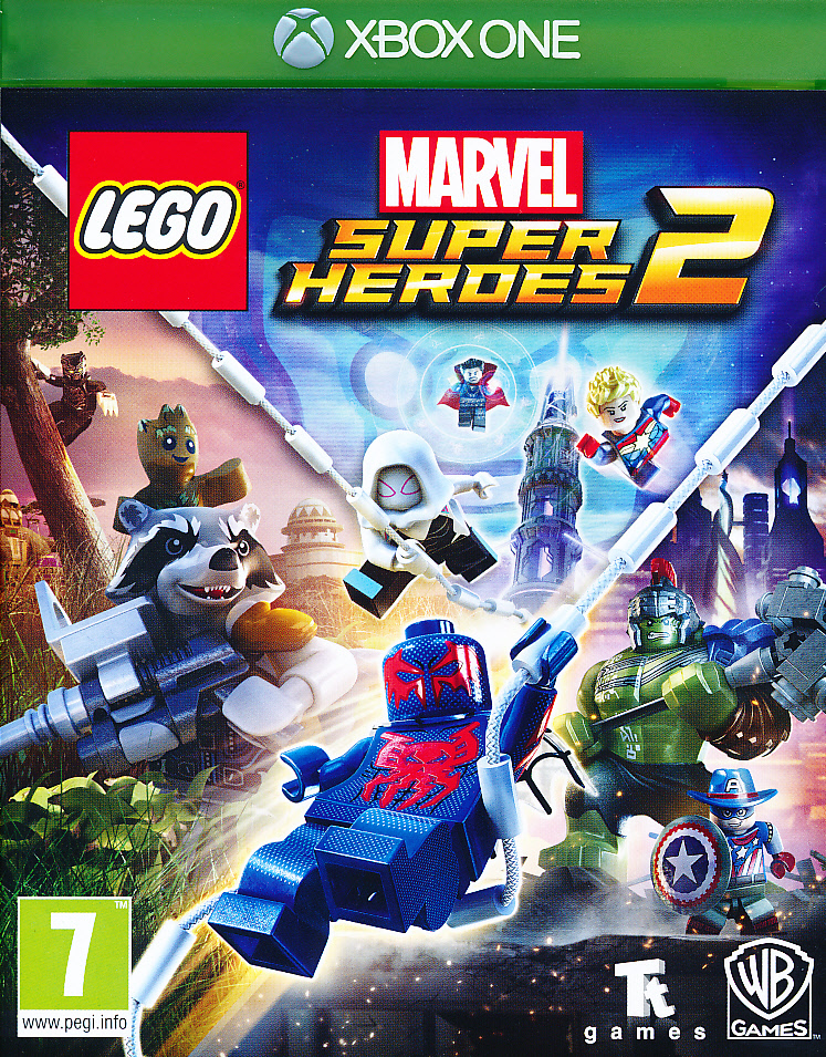 "Packshot for ""Lego Marvel Superheroes 2 XBO"""