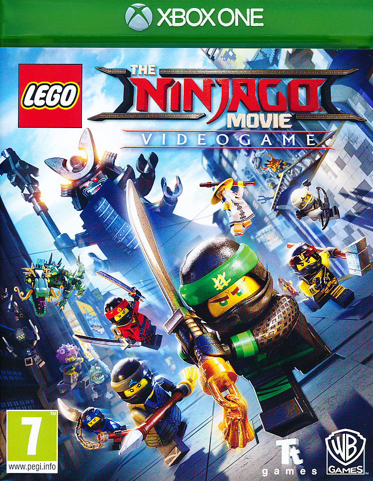 "Packshot for ""Lego Ninjago Movie Game XBO"""