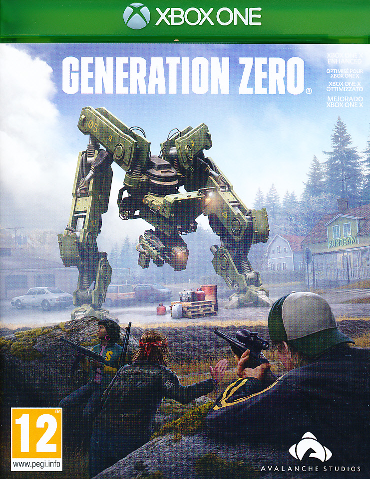 "Packshot for ""Generation Zero XBO"""