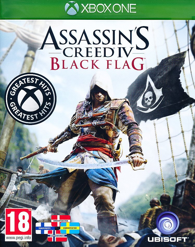 "Packshot for ""Assassins Creed 4 B. Flag NORD XBO"""