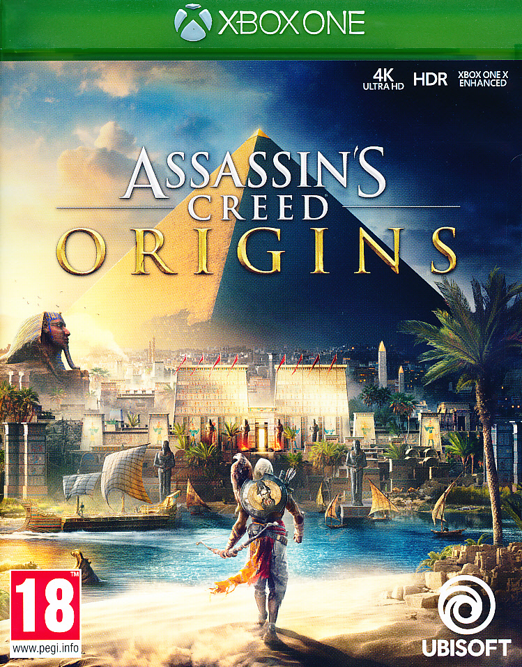 "Packshot for ""Assassins Creed 4 Origins XBO"""