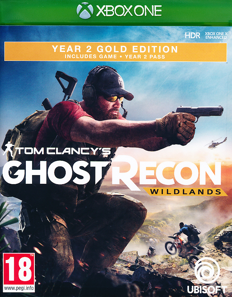 "Packshot for ""Ghost Recon Wildlands Y2 GOLD XBO"""