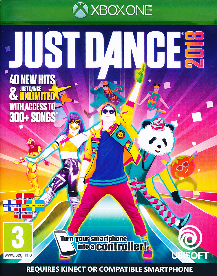 "Packshot for ""Just Dance 2018 NORD XBO"""
