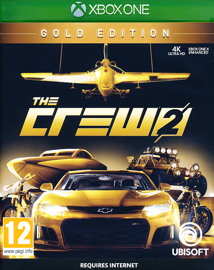 "Packshot for ""The Crew 2 GOLD XBO"""