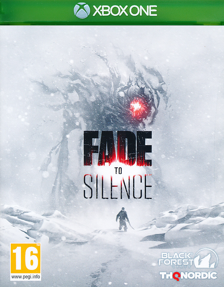 "Packshot for ""Fade to Silence XBO"""