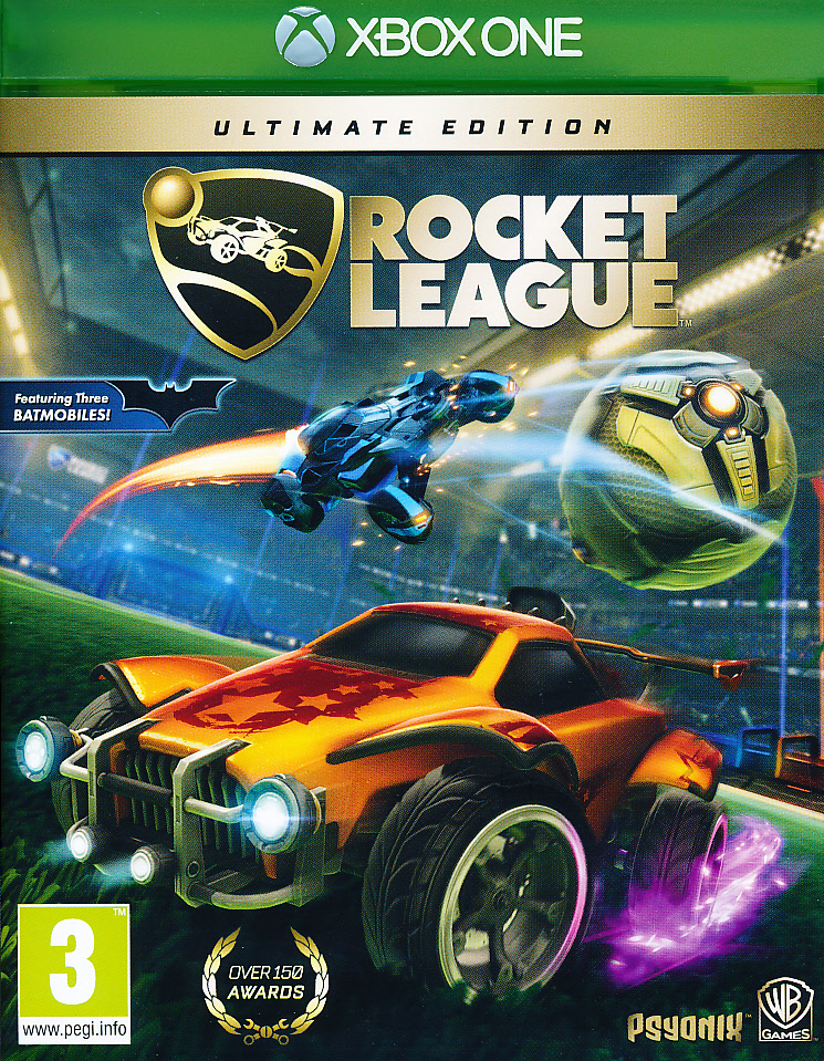 "Packshot for ""Rocket League Ultimate Ed. XBO"""
