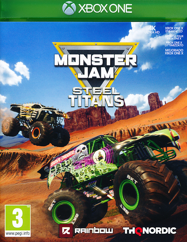 "Packshot for ""Monster Jam Steel Titans XBO"""