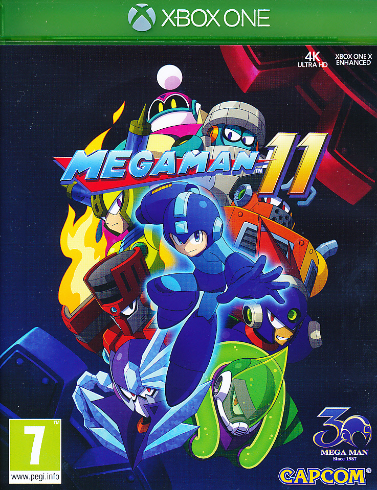 "Packshot for ""Mega Man 11 XBO"""