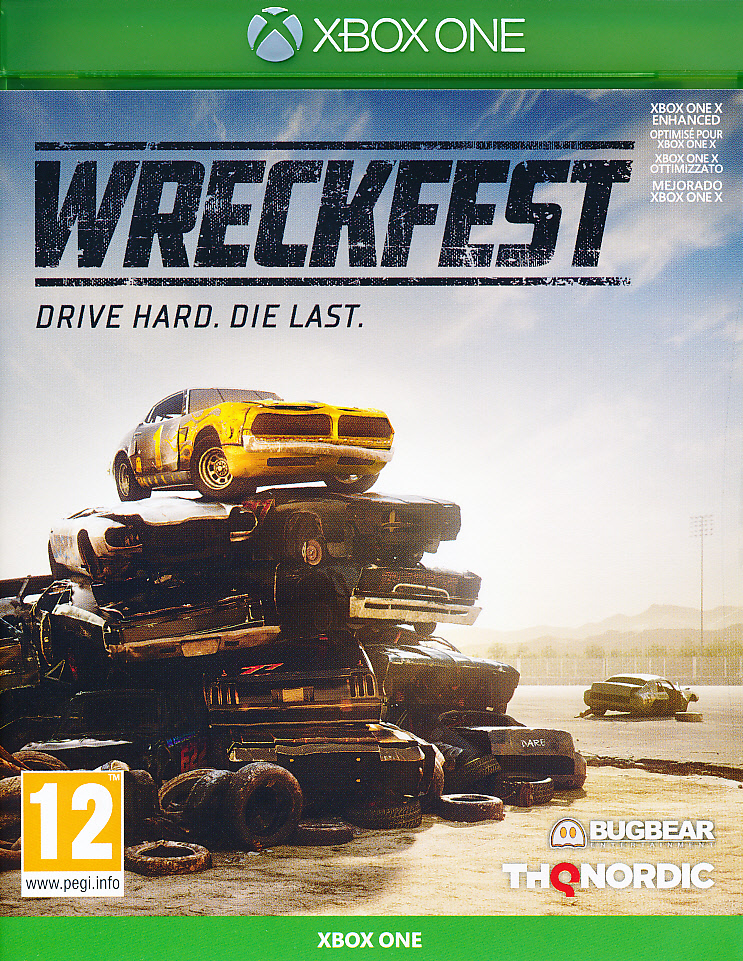 "Packshot for ""Wreckfest XBO"""