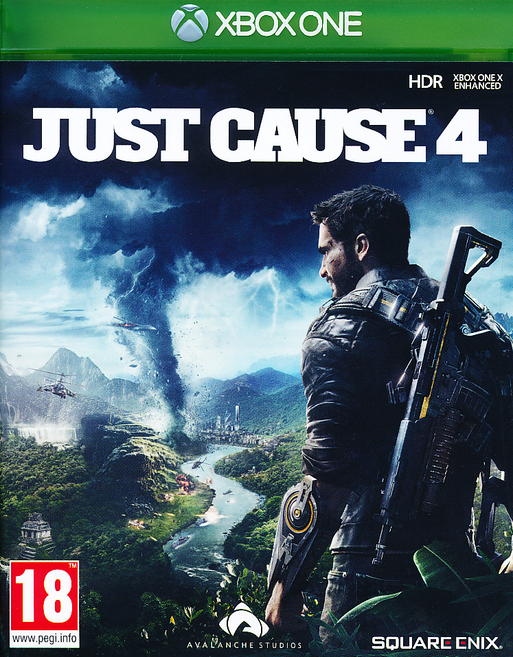 "Packshot for ""Just Cause 4 XBO"""
