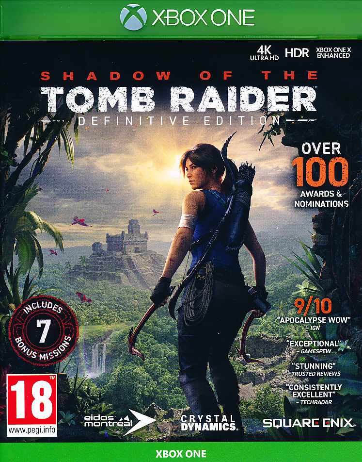 "Packshot for ""Shadow of Tomb Raider Def. Ed. XBO"""