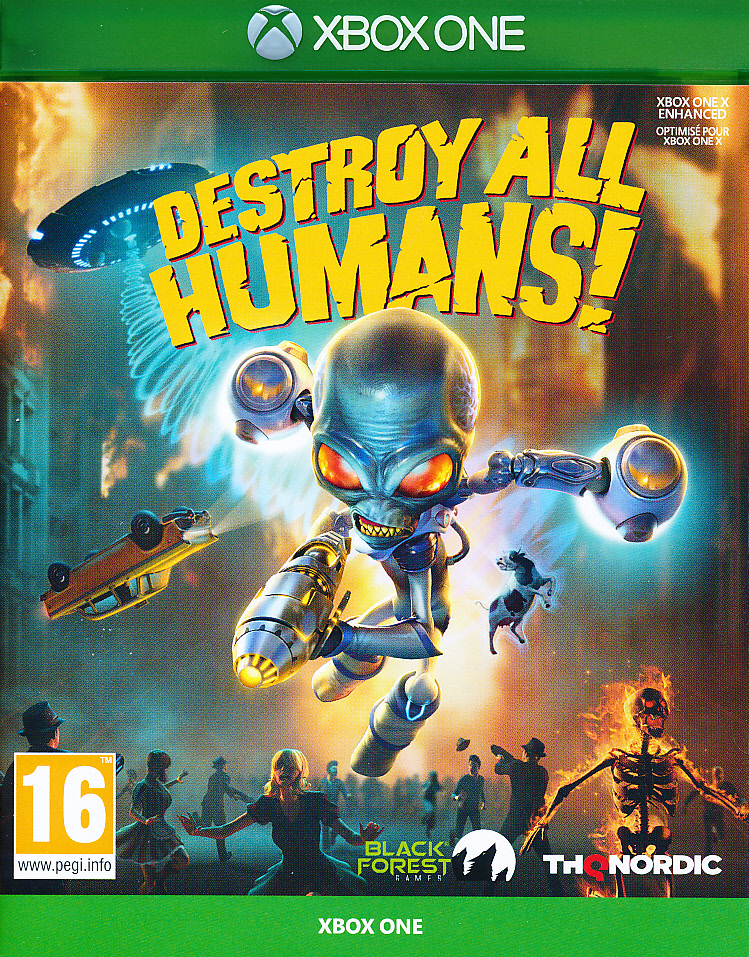 "Packshot for ""Destroy All Humans XBO"""
