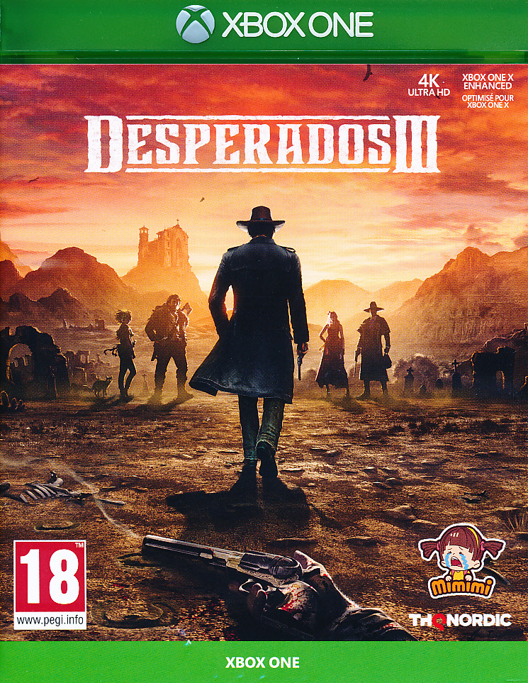 "Packshot for ""Desperados 3 XBO"""