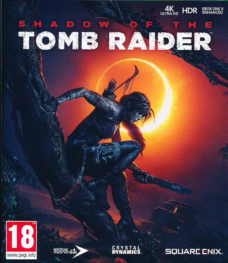 "Packshot for ""Shadow of Tomb Raider XBO"""