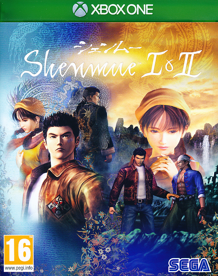 "Packshot for ""Shenmue 1 & 2 XBO"""