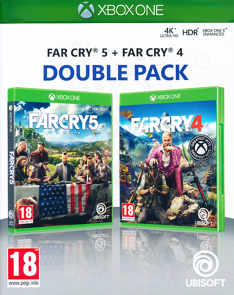 "Packshot for ""Far Cry 4 + Far Cry 5 XBO"""