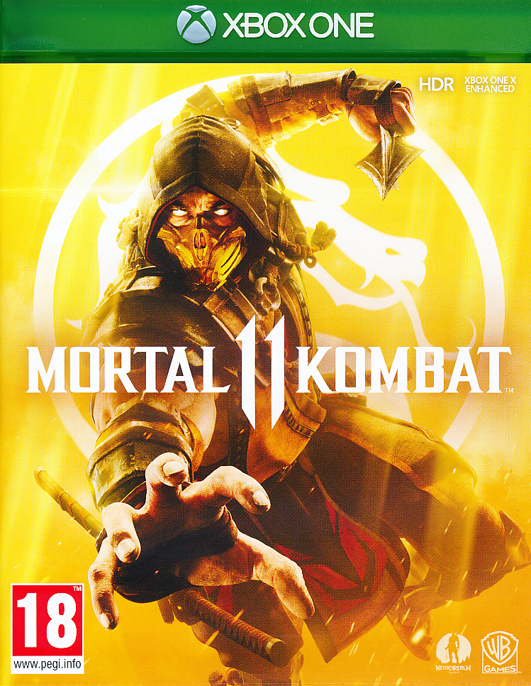 "Packshot for ""Mortal Kombat 11 Inc Shao Kahn XBO"""