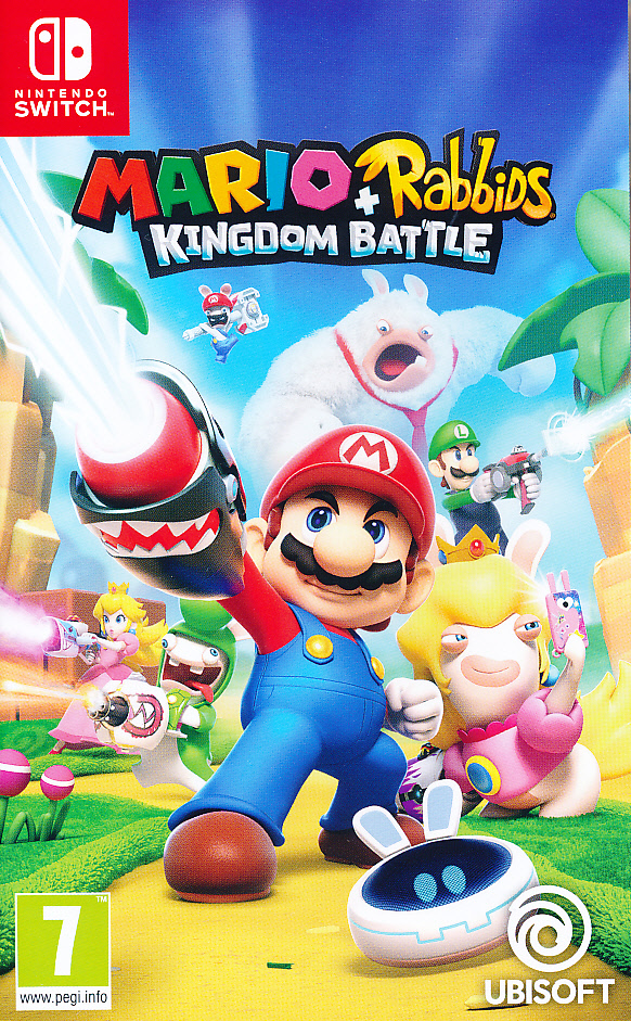 "Packshot for ""Mario + Rabbids Kingdom Battle NS"""