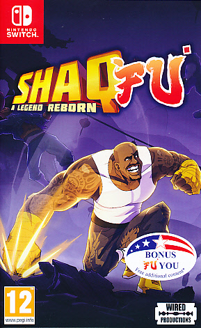 "Packshot for ""Shaq Fu A Legend Reborn NS"""